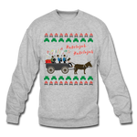 CCQ Ugly Holiday Sweatshirt - heather gray