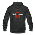 Gatekeeper - Fleece Zip Hoodie - charcoal gray