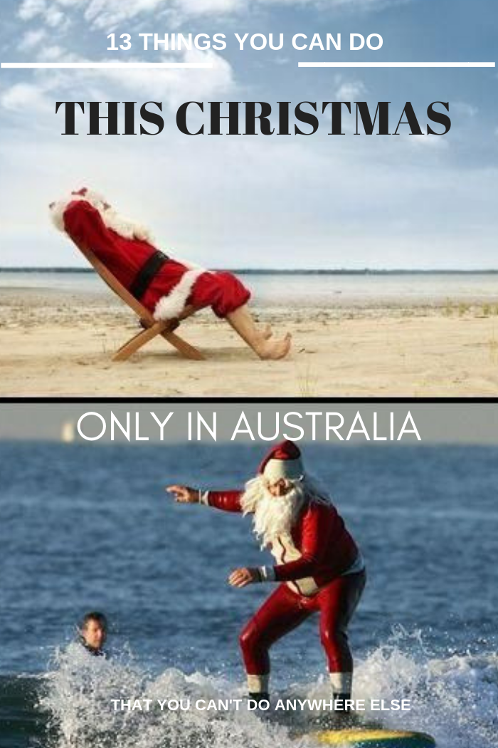 13 things to do this Christmas...in Australia (that you can't do anywhere else)