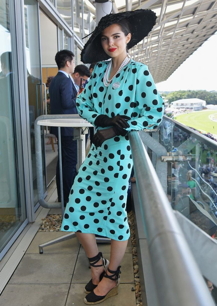 What to wear to the race Melbourne cup Polka dot