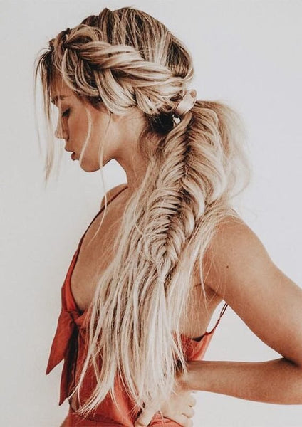 pretty hair braid style
