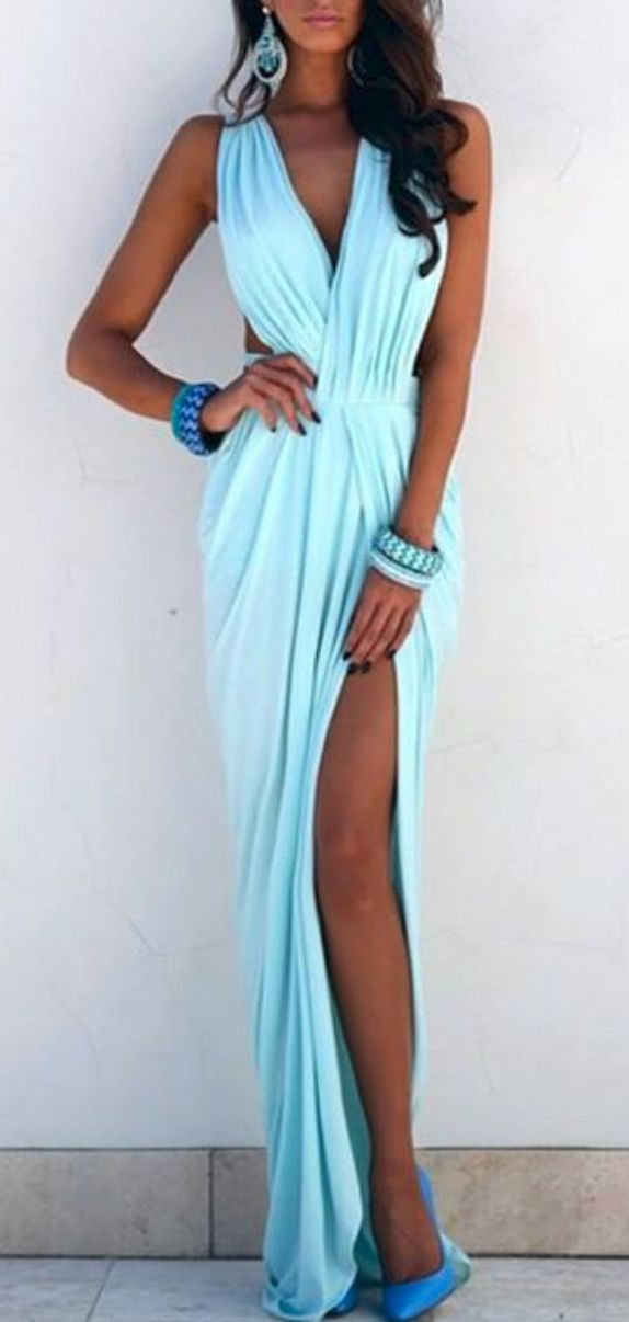 ELDA MAXI PROM DRESS - DRESS - Koogal.com.au