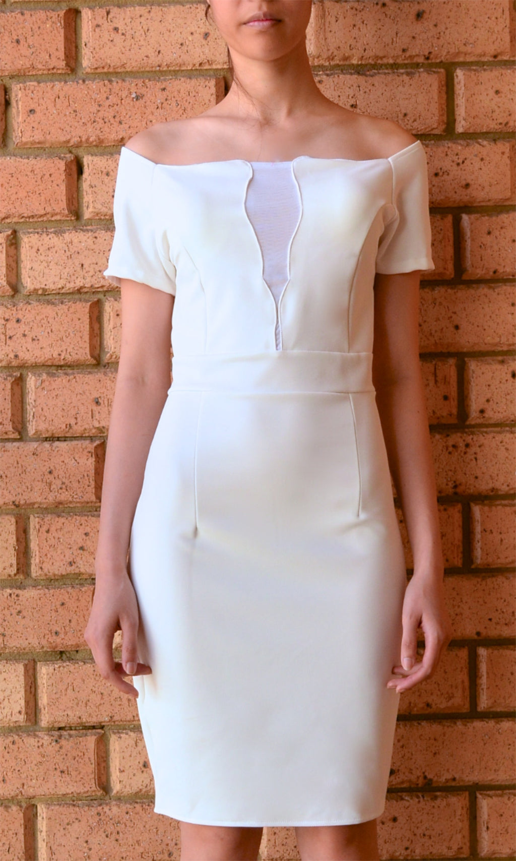 MAFIA WHITE MIDI DRESS - BOTTOMS - Koogal.com.au