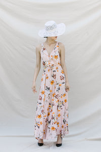 TITA FLORAL MAXI DRESS FLOOR LENGTH