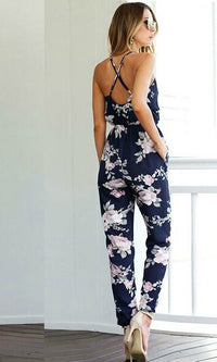 ALICE FLORAL JUMPSUIT - jumpsuit - Koogal.com.au