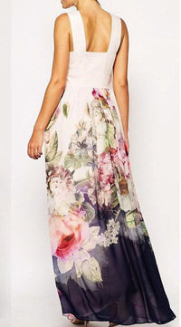 FLORAL AERY MAXI DRESS - DRESS - Koogal.com.au