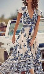 PHOENIX HIGH LOW MAXI DRESS