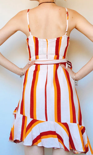 KAMILA STRIPES DRESS - DRESS - Koogal.com.au