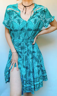 OLIVIA MIMI BOHO BEACH DRESS - DRESS - Koogal.com.au