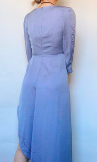 SICILY ROMPER MAXI DRESS IN BLUE - DRESS - Koogal.com.au