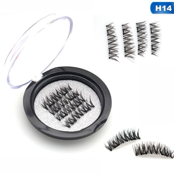 Magnetic Eyelashes With Double Magnets Handmade 3D/6D