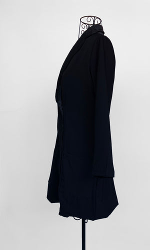 ERINA BLACK BLAZER DRESS - TOP - Koogal.com.au