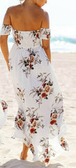 TASH OFF THE SHOULDER MAXI DRESS