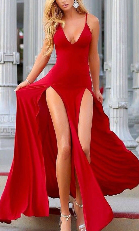 Hestia-red-maxi-dress-Koogal