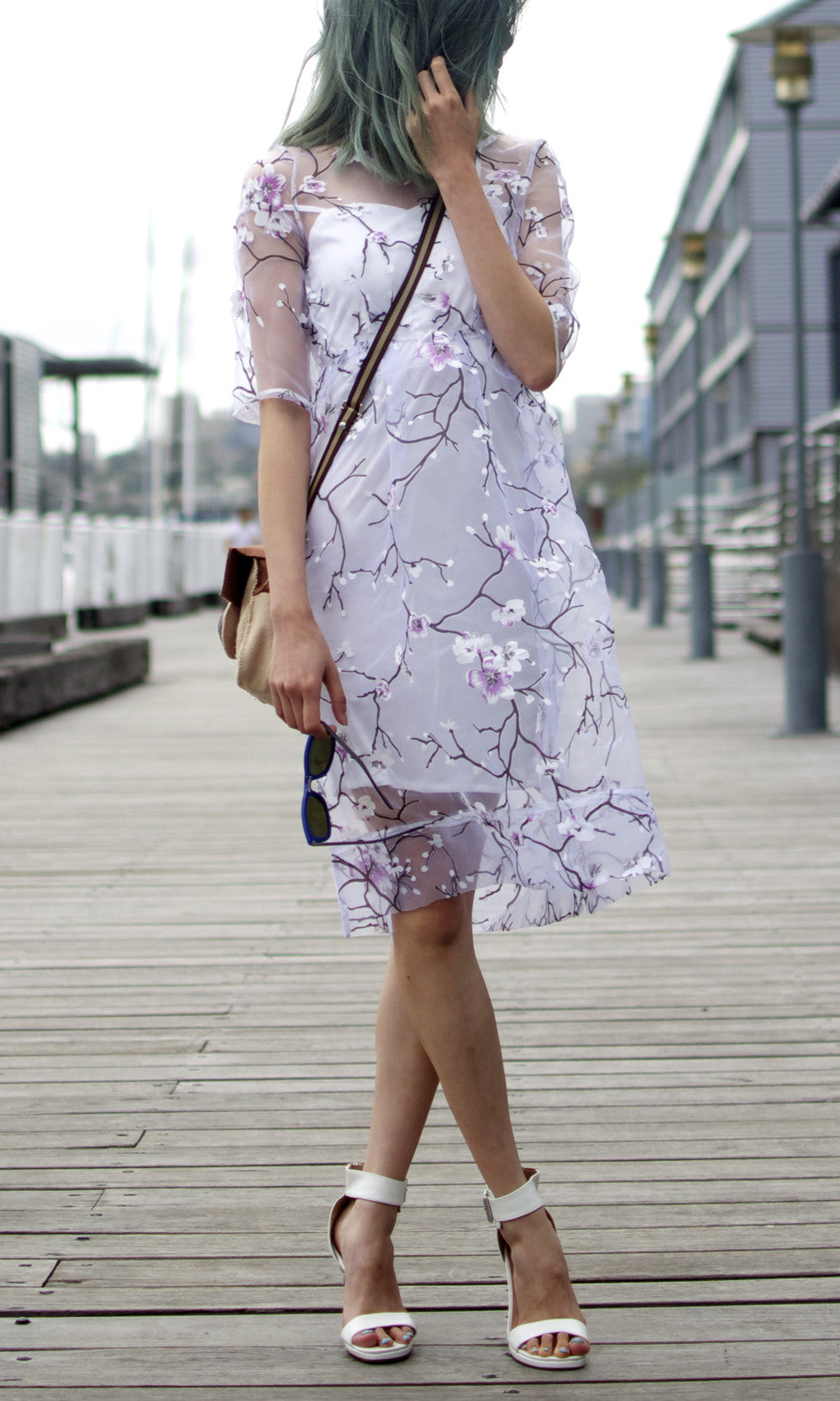 SAKURA SHEER DRESS