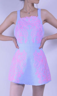 LILAC MINI SHORT JUMPSUIT - DRESS - Koogal.com.au