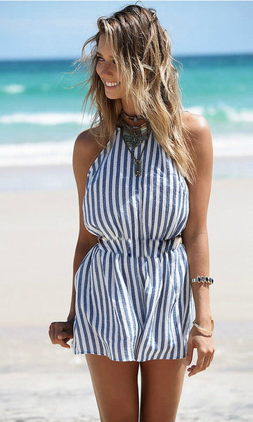 SWEET TREAT BACKLESS SHORT JUMPSUIT