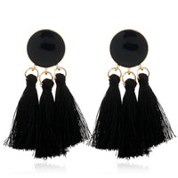 TRIBE PRIDE LONG TASSEL EARRINGS -  - Koogal.com.au