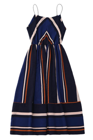 VI VI VINTAGE INSPIRED A-LINE MIDI DRESS - DRESS - Koogal.com.au
