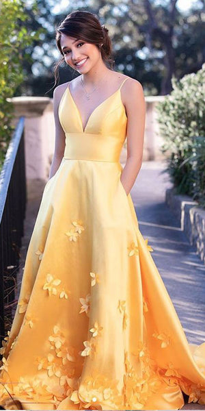 Spaghetti Straps Long Prom Dresses 2020 Fashion Long Evening Gowns Custom Made Long School Dance Dress Women's Pagent Dresses PD997