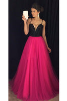 Custon Made Sweetheart Beaded Tulle Prom Dress Fashion Long Evening Dress with Beadings PD238
