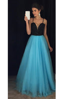 Sweetheart Beaded Long Prom Dress Custon Made Fashion Tulle Evening Gowns with Beads PD237