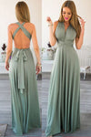 Custom Made Simple Sexy Backless Prom Dress Discount Fashion Long Evening Dress PD203
