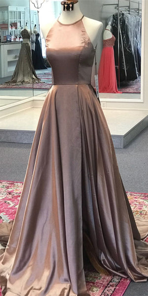 2020 Simple Long Prom Dresses Fashion Long Evening Gowns Custom Made Long School Dance Dress Women's Pagent Dresses PD982