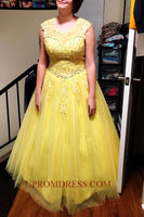 Discount Fashion Beaded Appliques Prom Dress Custom Made Long Beading Sweet 16th Dress PD163