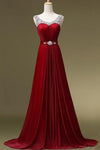 Custom Made Beaded A-Line Long Prom Dress Fashion Evening Dress with Beadings PD202