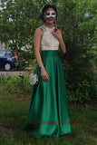 Discount Fashion Satin Beading Prom Dress Custom Made Open Back Long Homecoming Dress PD139