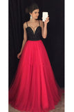 Custon Made Sweetheart Beaded Tulle Prom Dress Fashion Long Graduation Party Dress PD239