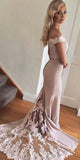 Sweetheart Long Off Shoulder Prom Dress Custom Made Long Mermaid Evening Gowns Fashion Long School Dance Dress PD780
