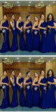 Simple Long Mermaid Bridesmaid Dress Custom Made Fashion Long Wedding Party Dresses BD112