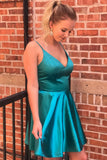 2020 Short Spaghetti Straps Homecoming Dress Custom Made Cute Cocktail Dress Fashion Short School Dance Dresses Sweet 16th Dresses HD217