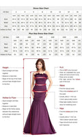 U-Neck Satin Prom Dress with Beaded Waist Custom Made Fashion Long Side Slit Formal Evening Dress PD315
