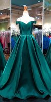 Sexy Off Shoulder Long Prom Dress Custom Made Long Sweetheart Evening Gowns Fashion Long School Dance Dresses PD739