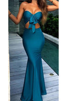 Sexy Sweetheart Mermaid Prom Dress Custom Made Fashion Long Formal Evening Dress PD319