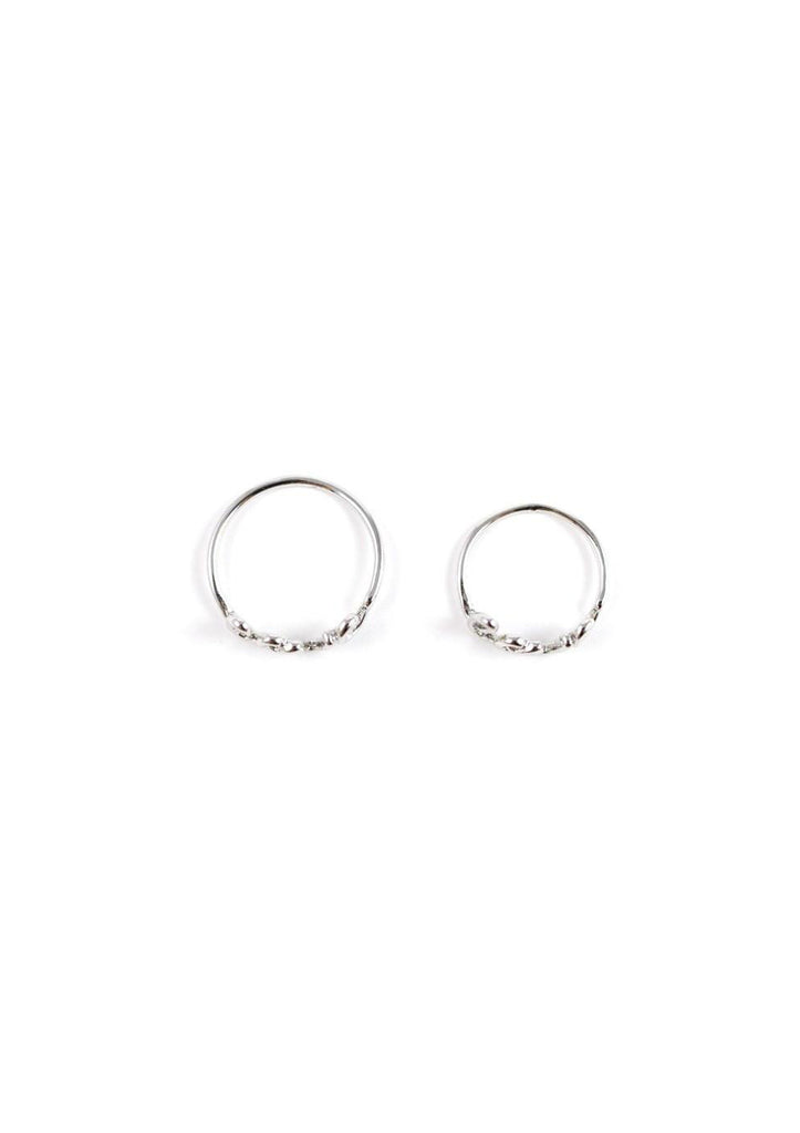 Cursive Long Ring Silver Online Accessories Kollidea 7