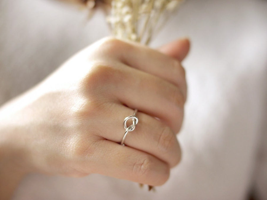 Eleanor Knot Ring - Silver