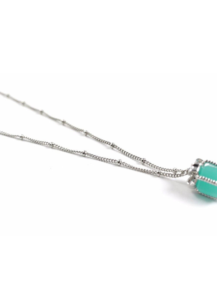 Necklace GiftBox Turquoise Silver Kollidea Accessories Jewelry Online 2