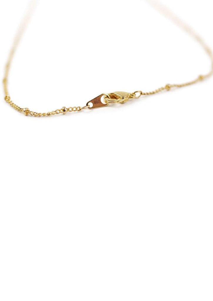 Gold Leaves Necklace Accessories Kollidea 3