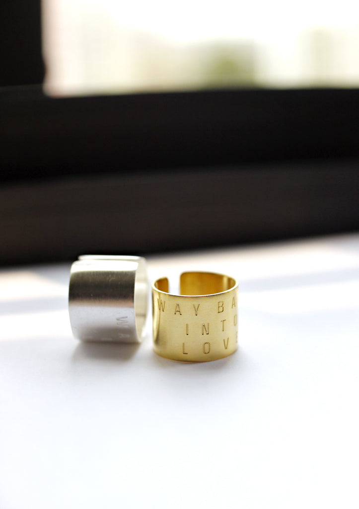Way back into love Gold Ring Online Accessories Kollidea 1
