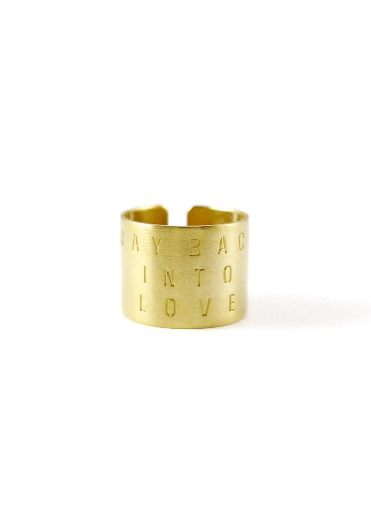 Way back into love Gold Ring Online Accessories Kollidea 3