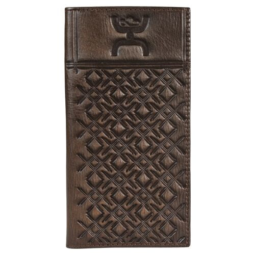 Hooey Checkbook Cover Crosshatch