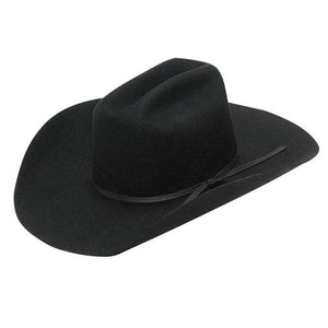 Twister Kid's Black Felt Cowboy Hat