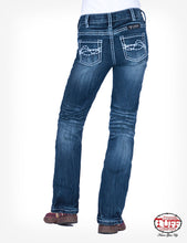 Load image into Gallery viewer, Cowgirl Tuff Girl's Edgy Bootcut Jean