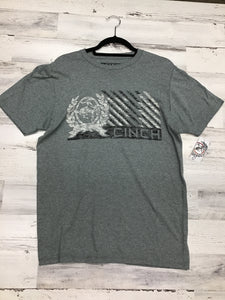 Cinch Grey Logo T-Shirt