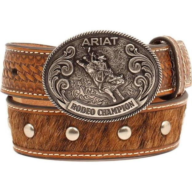 Ariat Bull Riding Rodeo Champion Belt