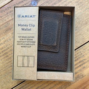 Ariat Money Clip Wallet